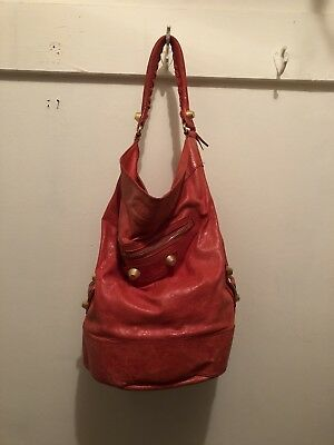 afb6ed5b20 BALENCIAGA GIANT GOLD Hardware Part Time Hobo Chevre Anthracite Bag ...