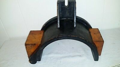 Vintage Steampunk Wood Foundry Industrial Pattern Mold 14 1/2 x 11 x 7