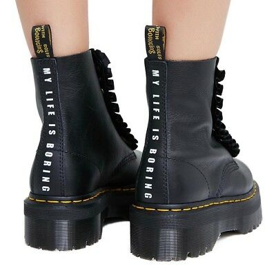 be2fe922 DR. MARTENS X Lazy Oaf Jungle Boots Black Women's Size 7 - $780.00 ...