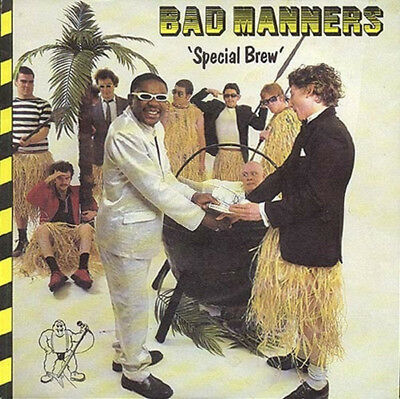 """BAD MANNERS Special brew 7"""" Vinyl (1980 Magnet Records)"""