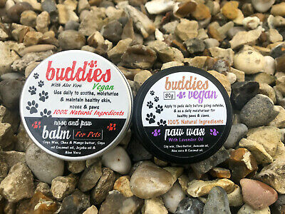 Paw Wax paw protection & Skin nose and paw balm 30g 100g BUDDIES DOGS & PUPPIES