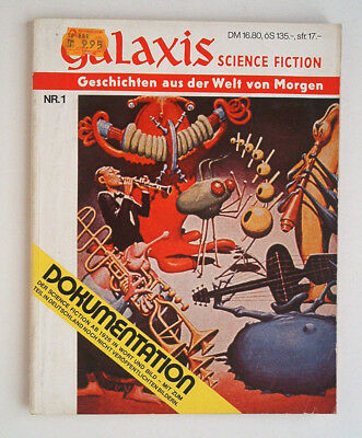 Galaxis Science Fiction Dokumentation ab 1926 N° 1 First 1978