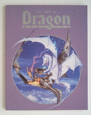 The Art of Dragon Magazin First 1988 TSR Cover Art incl. Special Insert