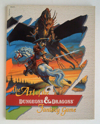 The Art of the Dungeons & Dragons First 1985 TSR Fantasy Game