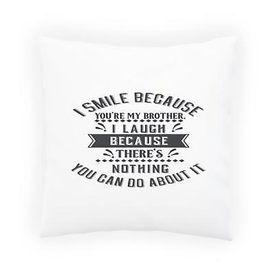 I Love My Crazy Wife Novelty Pillow Cushion Cover ee3p