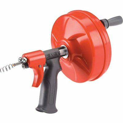 Ridgid 41408 Power Spin with AUTOFEED, Maxcore Drain Cleaner Cable, Bulb Drain