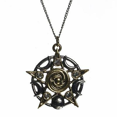 Mythic Celts Star of Skellig Lunar Pendant Necklace for Spiritual Growth MY12