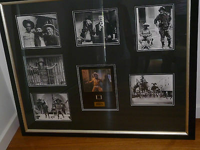 BLAZING SADDLES 1974 Framed Pictures with original piece of  Film