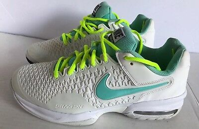 😍😍😍Nike Air Max Cage Womens US 9 Tennis Shoes White