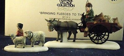 """Department 56 Dickens Village """"Bringing Fleeces to the Mill #56.58190 HD12"""