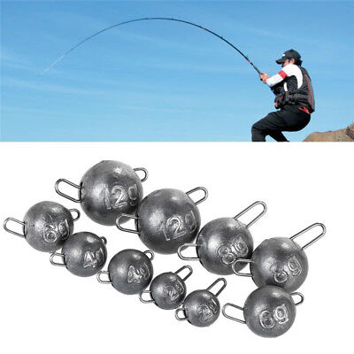 5 Pcs/Set Jig Heads Sinkers Lead 4g 6g 8g 10g 12g Soft Lures Fishing Accessories
