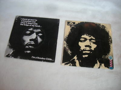 2 x Vintage JIMI HENDRIX EXPERIENCE Picture Record 45 & EP - Covers Only