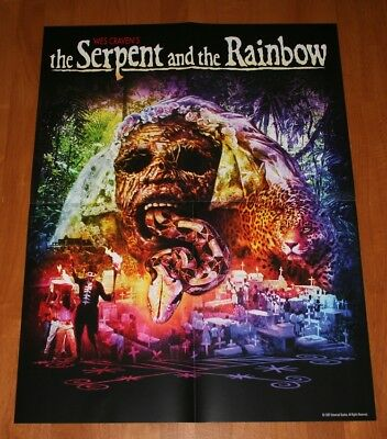 The Serpent and the Rainbow Poster Only NEW Shout Factory