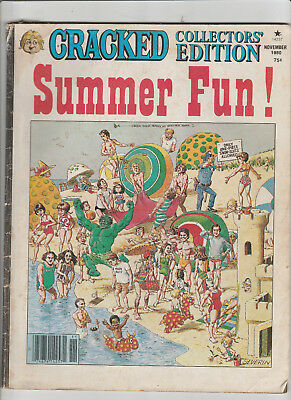 CRACKED Collector's Edition N0v 1980 Summer Fun! SEQUELS parody Boating Guide