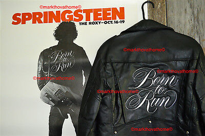 BRUCE SPRINGSTEEN BORN to RUN ROXY JACKET Elvis Presley Button