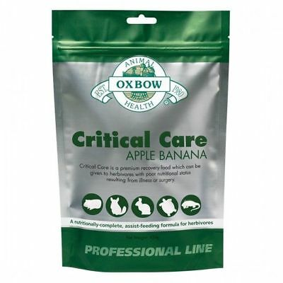 Oxbow Animal Health Critical Care Apple & Banana (1 Pound) FREE S&H