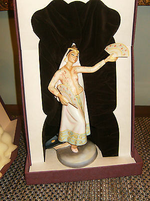 Rare Royal Doulton Hn2439 Philippines Dancer Ltd Ed 106/750 1977 Coa & Box Davis