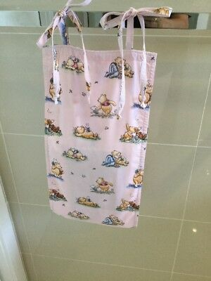 Beautiful Pooh Quite Moments, Pink, Baby Diaper Nappy Stacker, Handmade, New