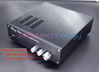 Finished 300WX1 150WX2 TAS5630 2.1-Ch Class D Power Amplifier W/ AD827 pre-amp