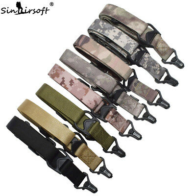 Tactical 2 Two Point Rifle Sling Multi-function Multimission Quick Release strap