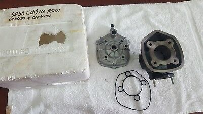 Cylinder + head for Aprilia SR50 R / Piaggio 50 liquid cooled LC scooter
