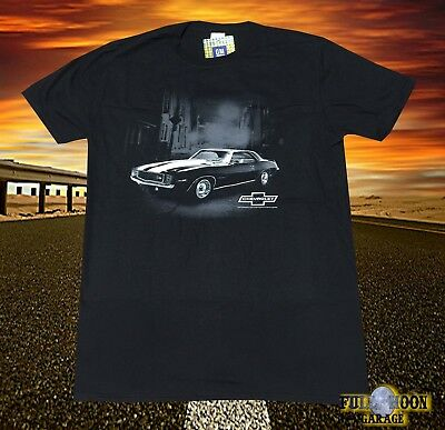 New Chevy Chevrolet Camaro 1967 Classic Black Men's Vintage  T-Shirt