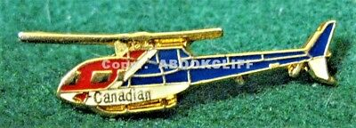 CANADIAN AIRLINES INTERNATIONAL HELICOPTER Pin Canada 1987-2001 Mint