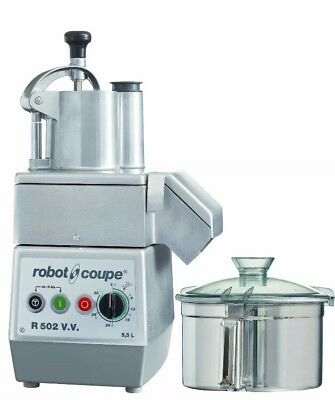 Robot Coupe R502 V.V Professional Food Processor 5.5 Ltr RRP £3,750