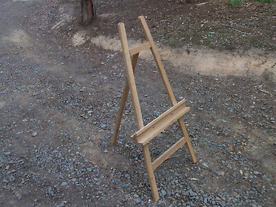 arts crafts painting supplies crafting equipment wood timber wooden artist easel