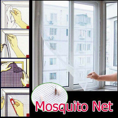 Window Mesh Door Curtain Net Guard Mosquito Fly Bug Insect Screen Protector Har1
