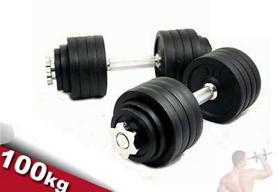 100 kg Adjustable Dumbbells Weight Kit (50 kg x 2pcs)