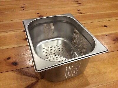 Large Bain Marie Food Warmer Container Drain Device gastronorm stainless steel