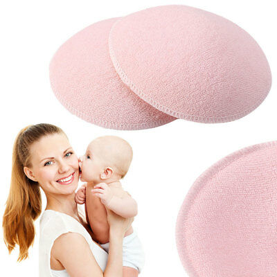 Mommy Nursing Pad Washable Breast Pads Spill Prevention Breast Feeding 12cm 2pcs