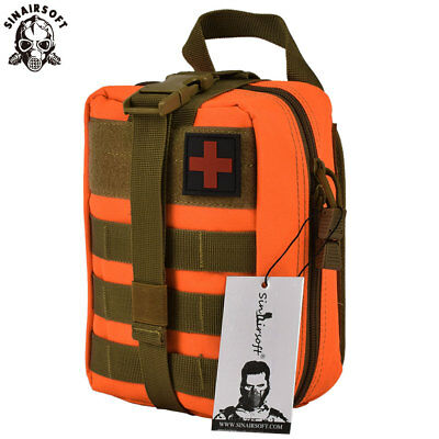 Tactical First Aid Kit Survival Rescue Molle EMT Emergency Pouch Medical Bag