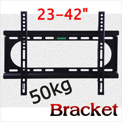 "Universal Tilt TV Wall Mount Bracket SONY SAMSUNG LG Panasonic 23""-42""LED LCD 3D"