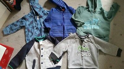 boys size 1 jumpers/ jackets