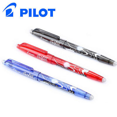 1pc Pilot Frixion Pen LFB-20EF Erasable Gel Ink Pen 0.5 mm PILOT Black/Blue/Red