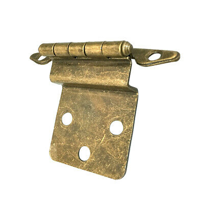blesiya Antique Brass Mini Hinges for Wooden Furniture Box Hardware #1
