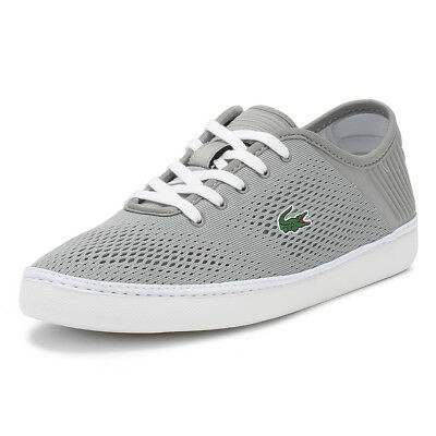 1dbfd468ae8d4 Lacoste Mens Trainers Grey   White L.YDRO Lace 118 1 Sport Casual Lace Up