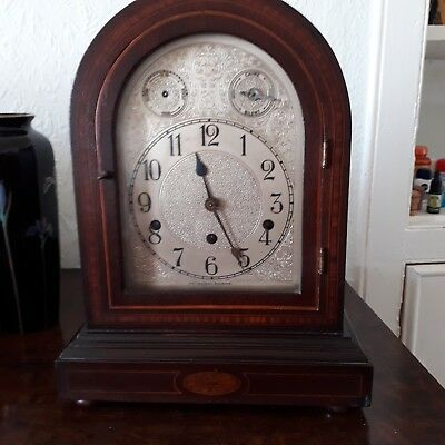 Bracket clock Edwardian