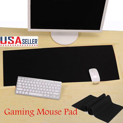 Extended XL Heavy Thick Gaming Mouse Pad Desk Keyboard Mat Non Slip Waterproof