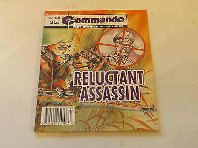 Commando War Comic Number 2481!,1991 Issue,v Good For Age,26 Years Old,very Rare