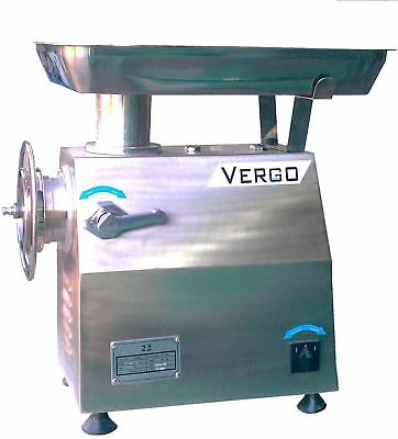 VERGO TK22 Commercial Butchers Medium Duty Meat Grinder Mincer  £550+VAT