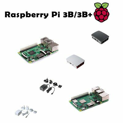 RASPBERRY Pi 3 Model B/3 Model B+ official Power Supply/Protect Case White/Black