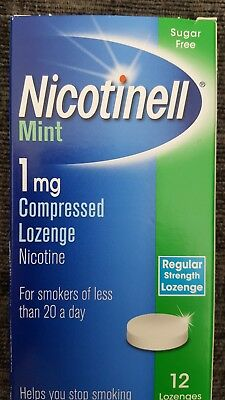 Nicotinell Mint 1mg Compressed Lozenges - 12 Lozenges