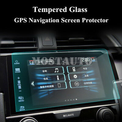 Premium Tempered Glass GPS Navigation Screen Protector For Honda Civic 2016-2019