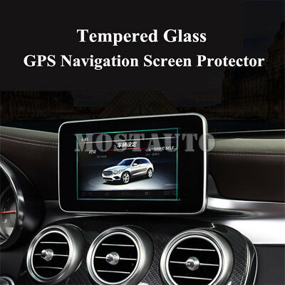 Tempered Glass GPS Navigation Screen Protector For Benz C Class W205 C180 C200