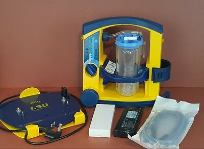 Laerdal Suction Unit LSU Emergency Paramedic Suction Pump Ambulance+New Battery