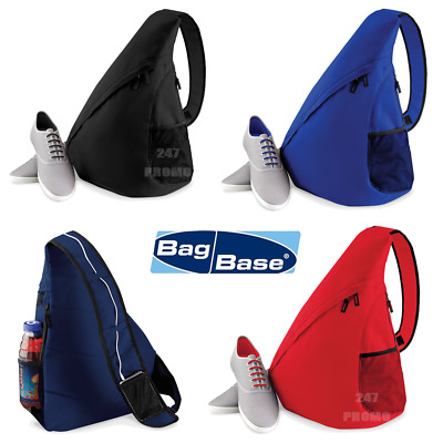Monostrap Backpack Single Strap Rucksack Triangle Shoulder Bag Sport Style Gym