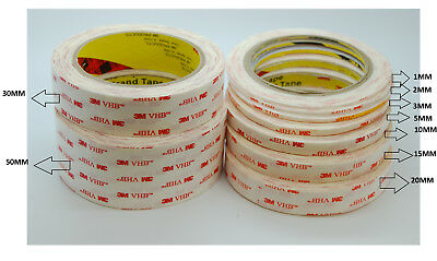 Thin 3M VHB Tape 4914 For LCD/Display and Bezel bonding, White, 0.25mm Thick